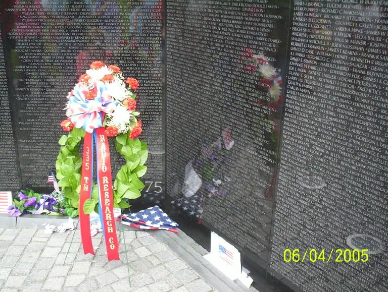 2005 Reunion Wall Tribute